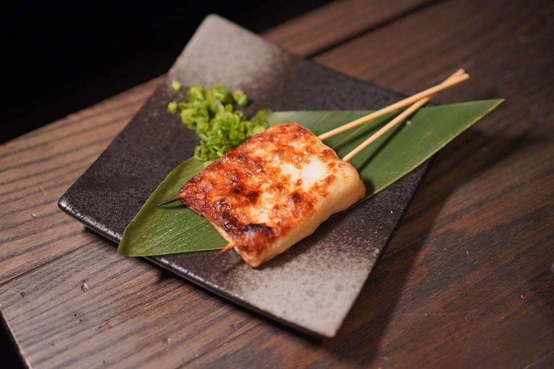 燒芝士魚餅 HK$58