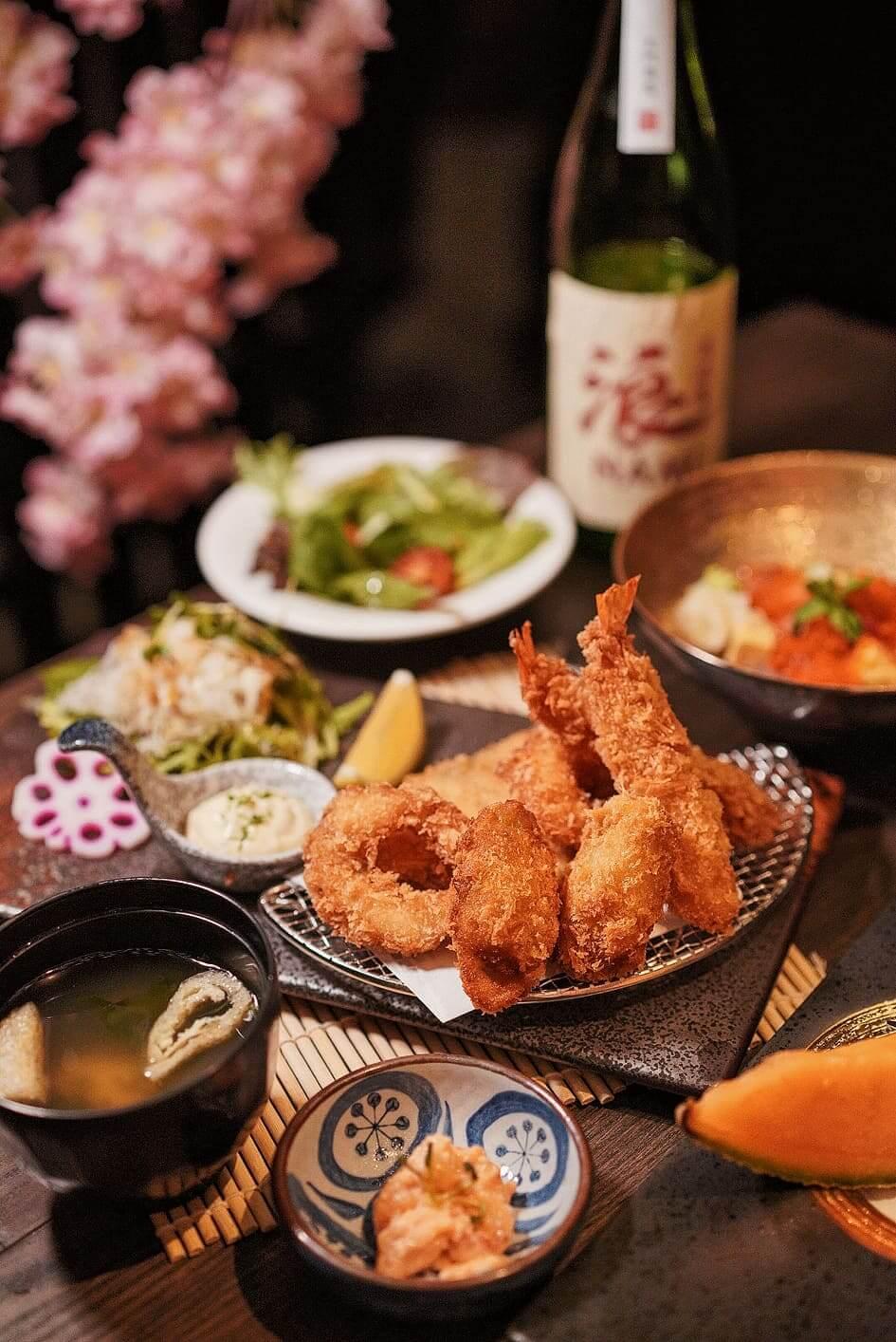 一系列日本地道料理,令人食指大動!