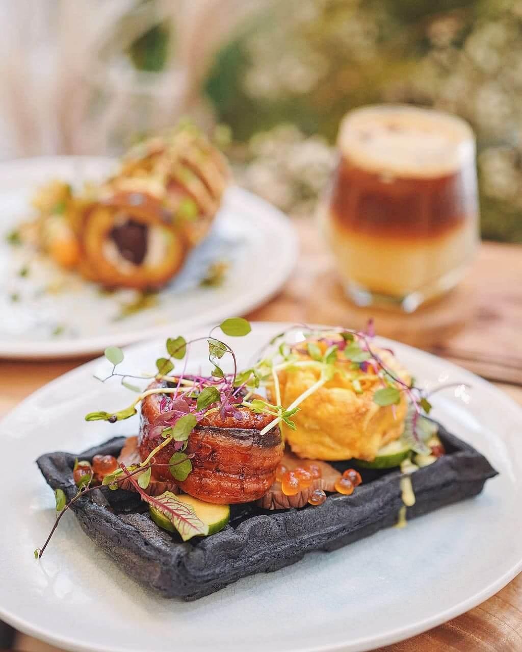 將大自然元素加入夏季菜單,非常別致。