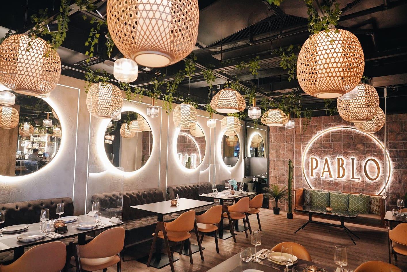 尖東墨西哥餐廳PABLO,裝潢或菜餚都相當出色。