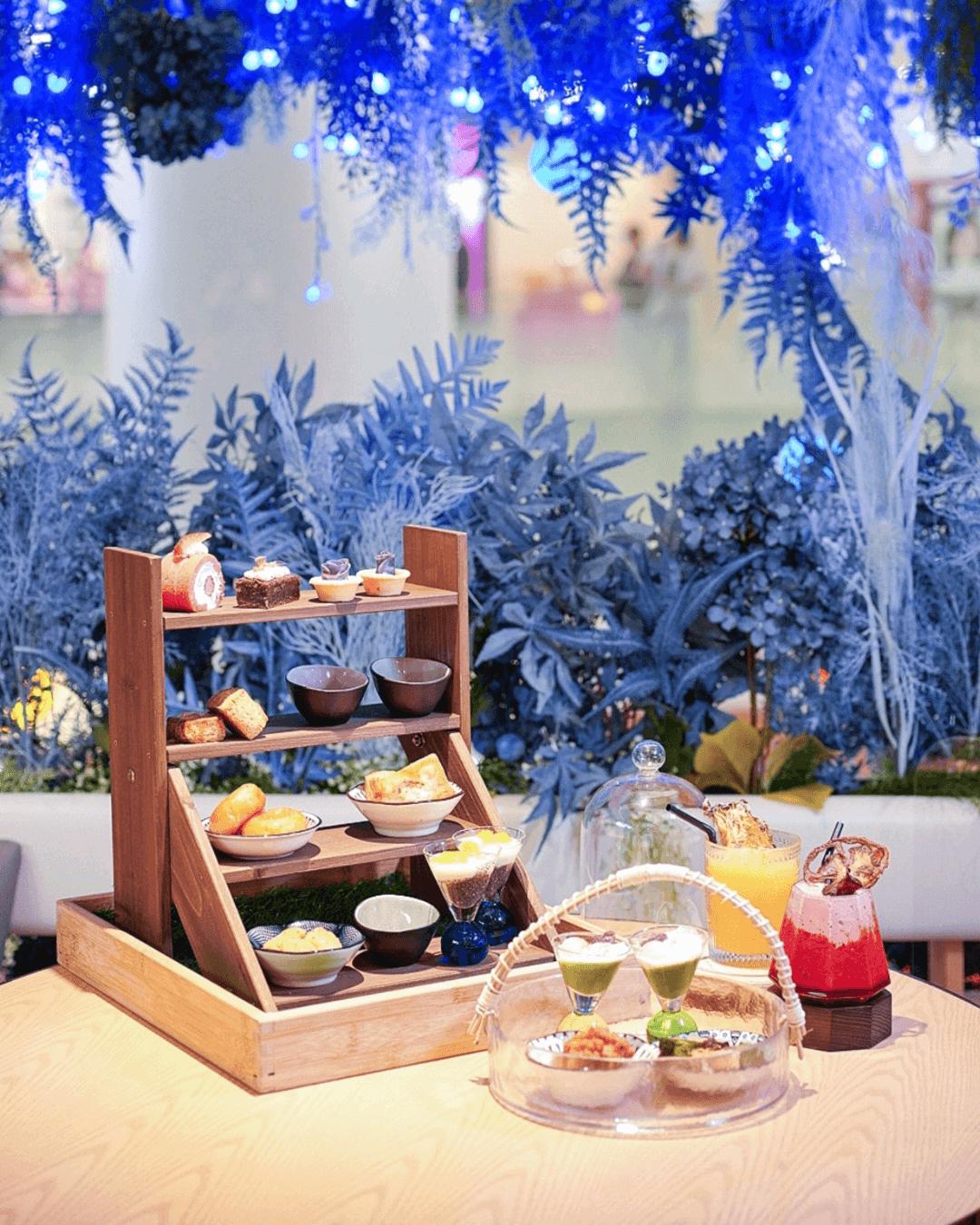 日系Café Sensu分店進駐荃新天地,推出限定「綠野仙蹤下午茶」。