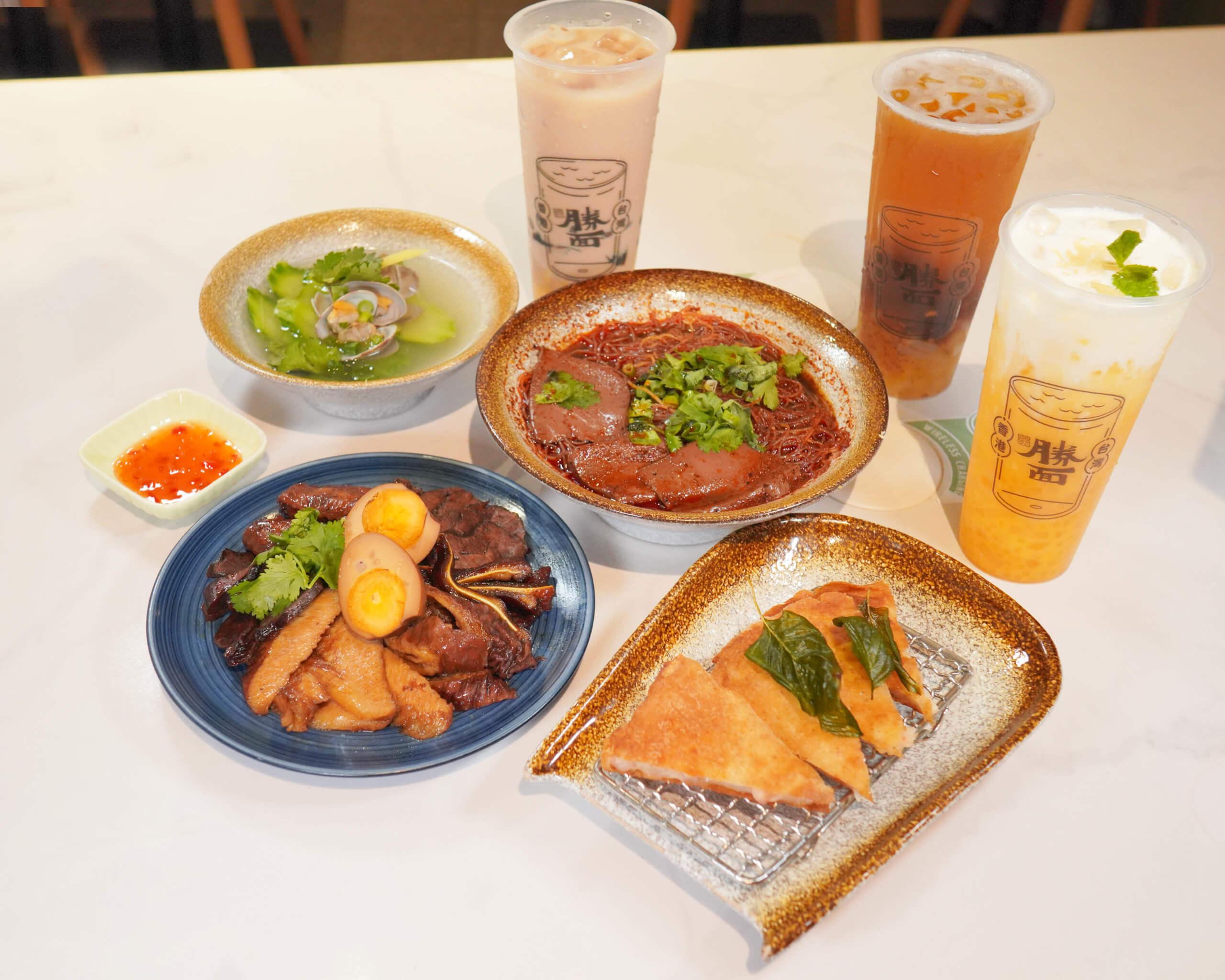 「台灣過江龍」勝面全新8款新菜式及口感茶飲系列登場。