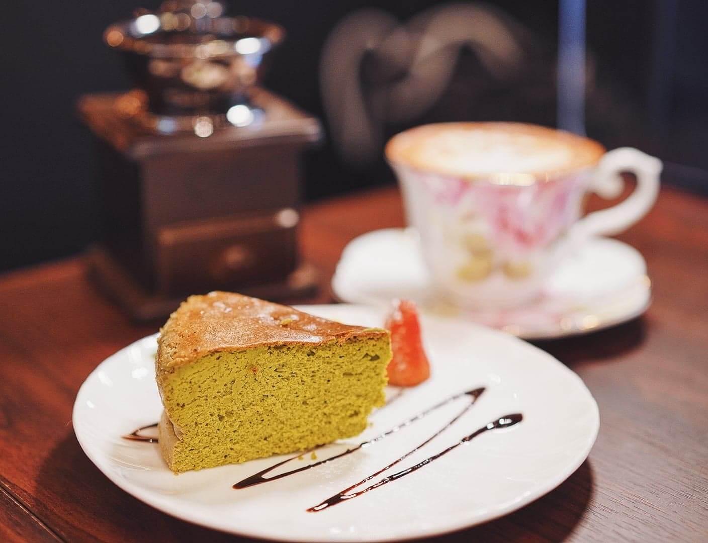 抹茶梳乎厘芝士蛋糕,濃郁之中不失鬆軟感,口感一流!