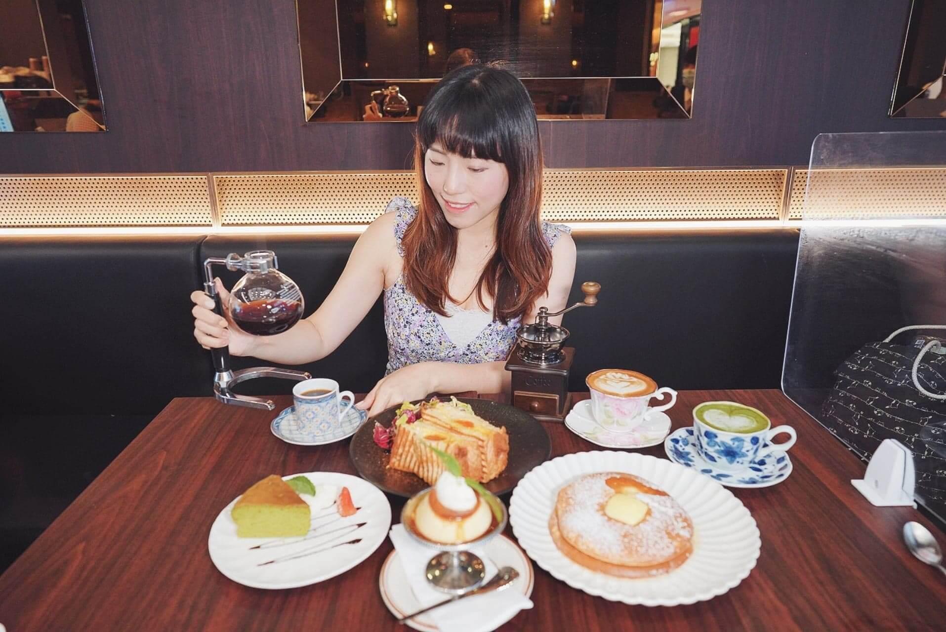 Sonia提供一系列懷舊昭和甜品及飲品。