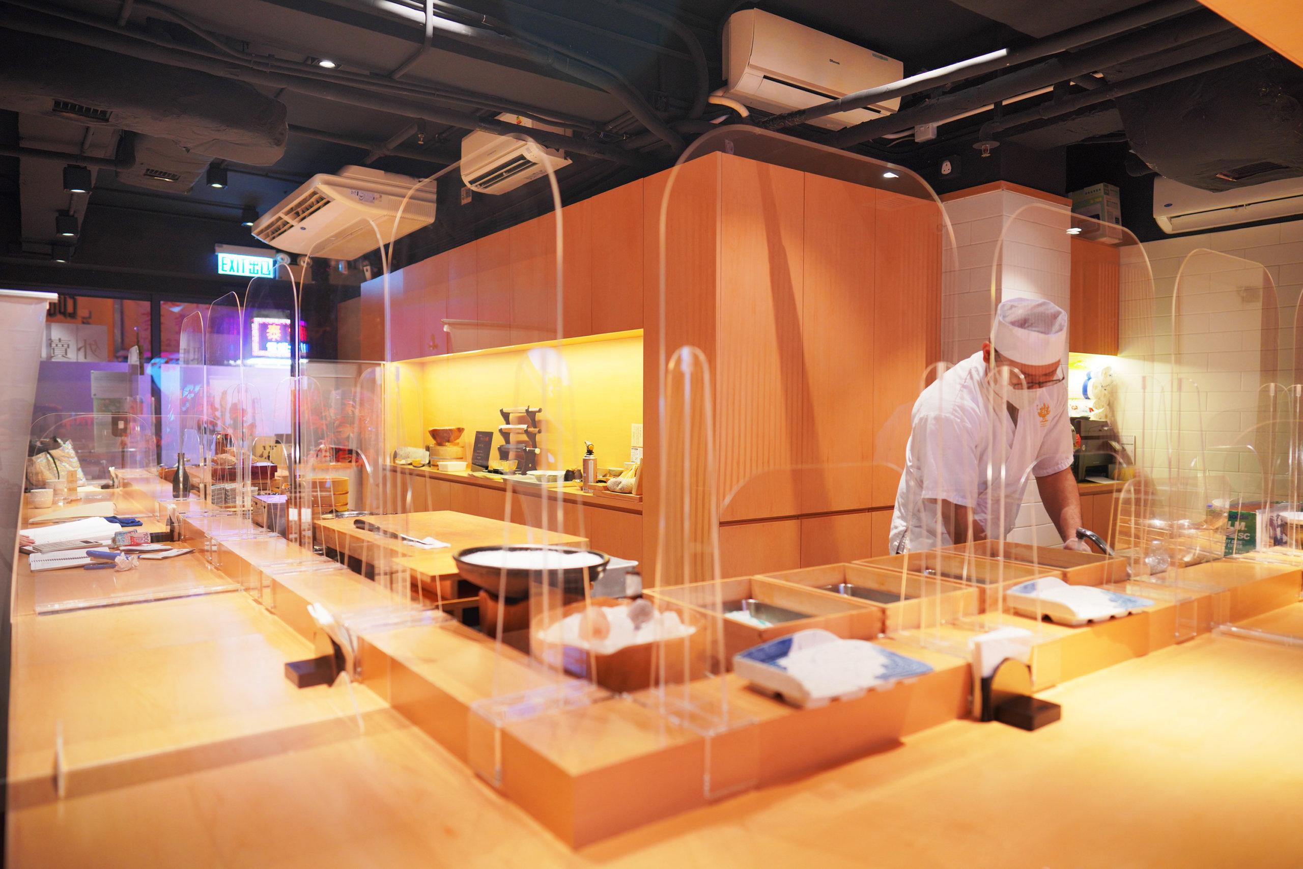 壽司豐比一般Omakase店大,仲設有廂房。