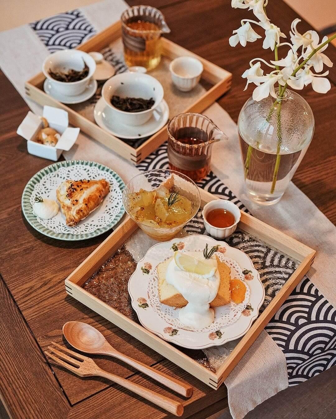 茶療 Tea Therapy可品嘗一系到高山茗茶及精緻糕點。
